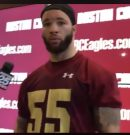 Boston College: Eagles coaches and players reflect on the NFL Combine and what it means to them.