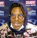 """Patriots: Cam """"meets"""" the media for the first time"""