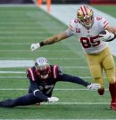 Patriots: End of the line? 49ers blowout New England by 27 points. Patriots now 2-4