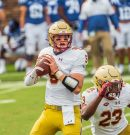 Boston College: Phil Jurkovec could be the number one quarterback in the 2022 draft class. Here's how
